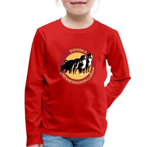 Sennenhundklubben - Långärmad premium-T-shirt barn