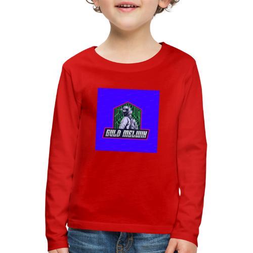 Guld Melwin - Långärmad premium-T-shirt barn