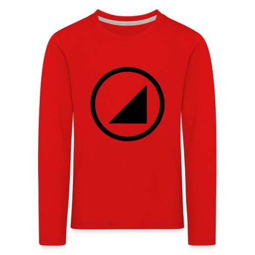 bulgebull marca oscura - Camiseta de manga larga premium niño