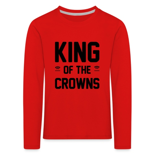 King of the crowns - Kinderen Premium shirt met lange mouwen