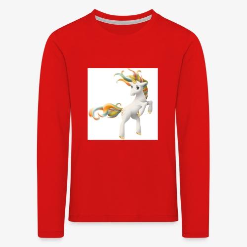 Love Unicorn - Kinder Premium Langarmshirt