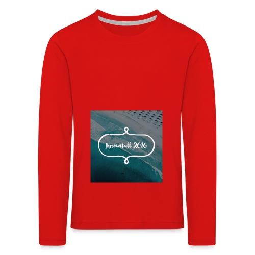 Knowitall 2016 - Kids' Premium Longsleeve Shirt