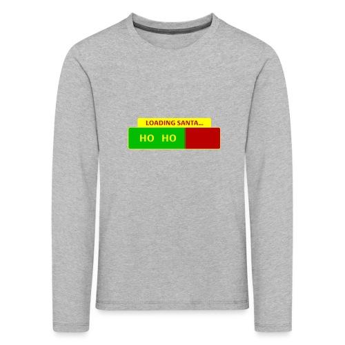Loading Santa - Lasten premium pitkähihainen t-paita