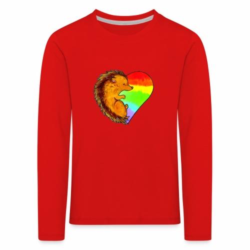 RICCIO - Maglietta Premium a manica lunga per bambini