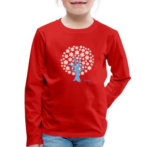 Spring - Lasten premium pitkähihainen t-paita