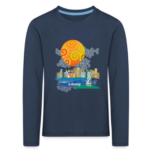 Dousig New York - T-shirt manches longues Premium Enfant