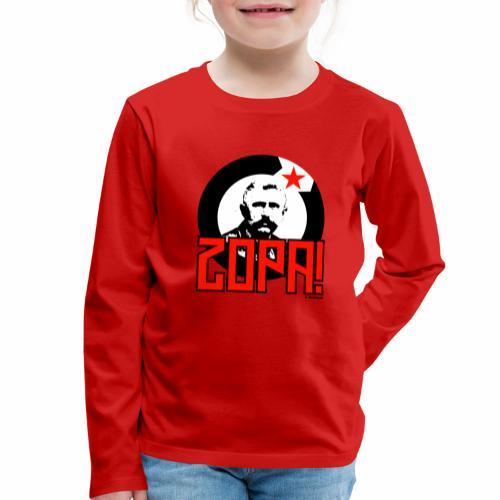 Zopa! - Kinderen Premium shirt met lange mouwen