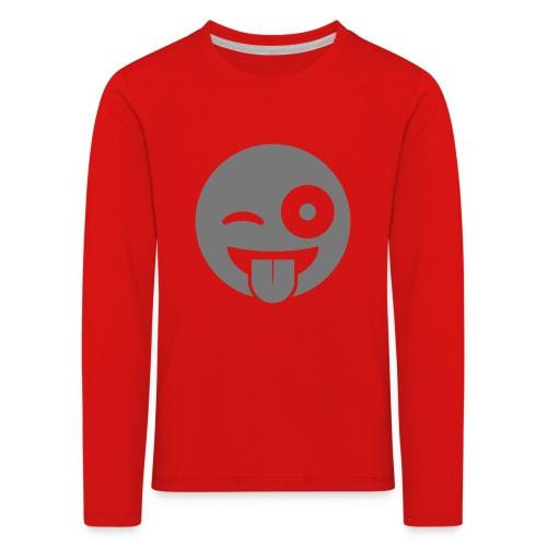 Emoji - Kinder Premium Langarmshirt