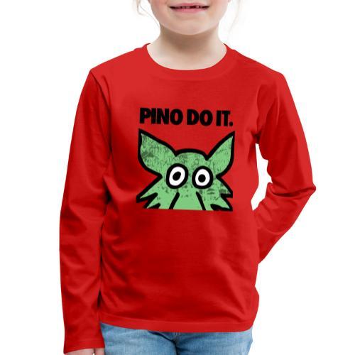 PINO DO IT - Maglietta Premium a manica lunga per bambini