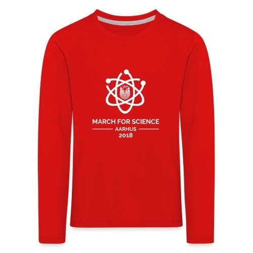 March for Science Aarhus 2018 - Kids' Premium Longsleeve Shirt