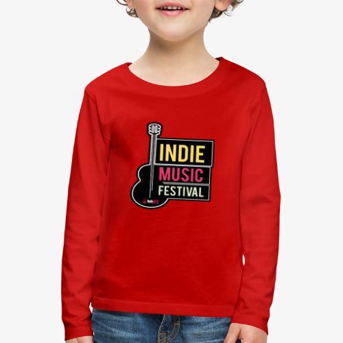 SOUND 001 - Camiseta de manga larga premium niño