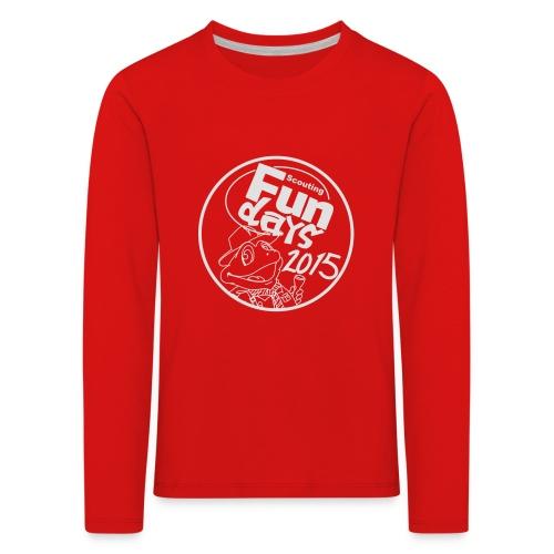 zonder crew - Kinderen Premium shirt met lange mouwen