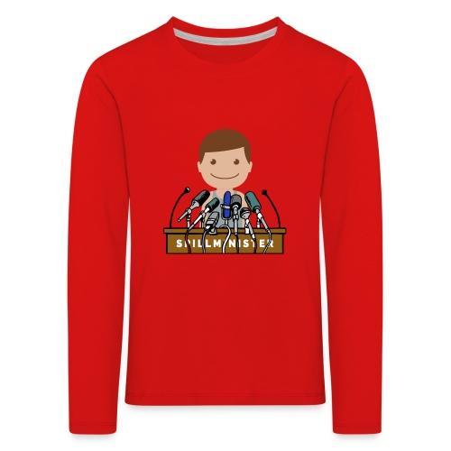 Spillminister logoen - Premium langermet T-skjorte for barn