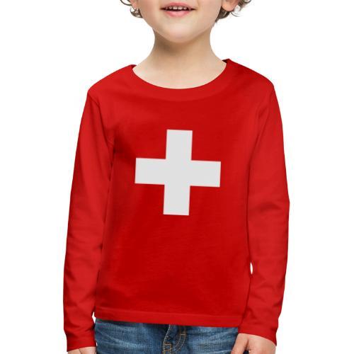 Kreuz - Kinder Premium Langarmshirt