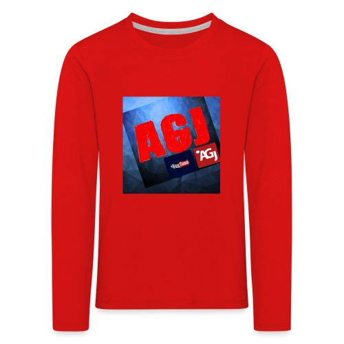 AGJ Nieuw logo design - Kinderen Premium shirt met lange mouwen