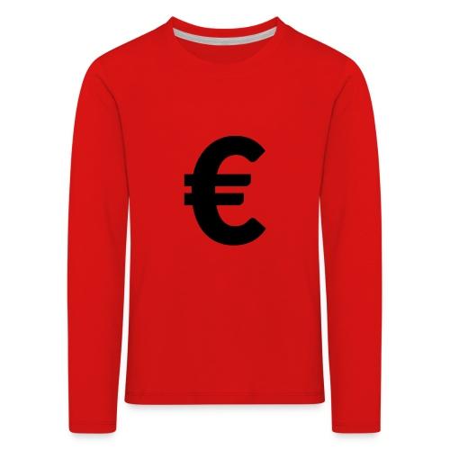 EuroBlack - T-shirt manches longues Premium Enfant