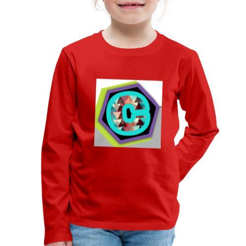 ChromaStreamt Merch Original! - Kinder Premium Langarmshirt