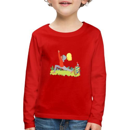 Der Ritter - Kinder Premium Langarmshirt