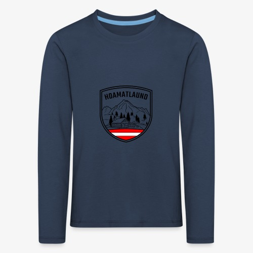 hoamatlaund österreich - Kinder Premium Langarmshirt