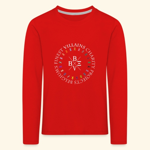 BVBE Charity Projects x factor white Charlemagne T - Kids' Premium Longsleeve Shirt