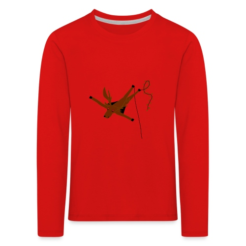 Cerf-Volant - T-shirt manches longues Premium Enfant