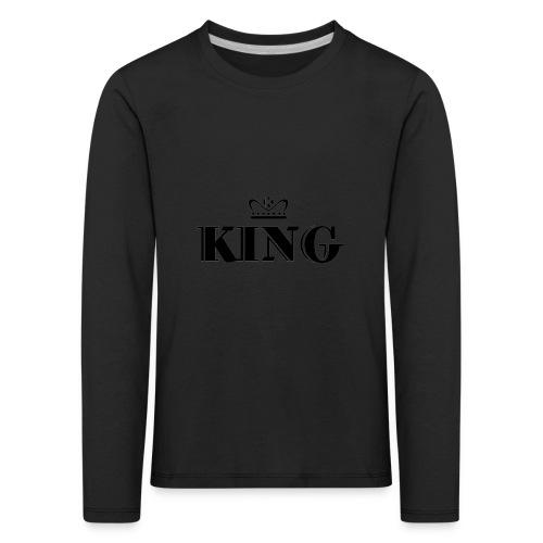 King - Kinder Premium Langarmshirt