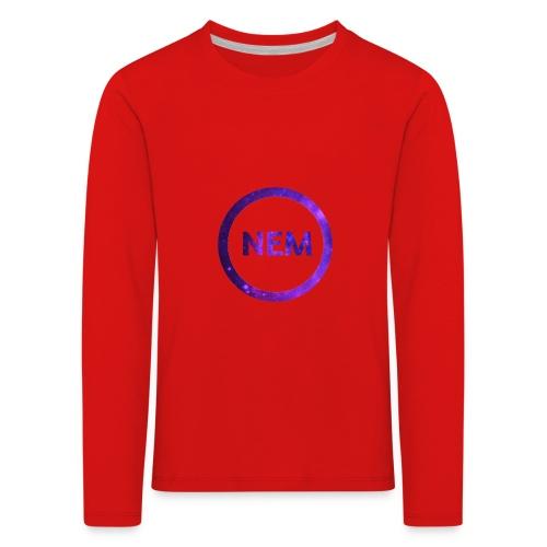 NEM OWNER - Lasten premium pitkähihainen t-paita