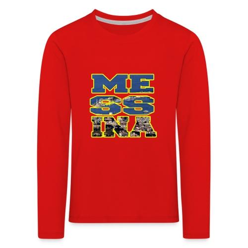 MESSINA YELLOW - Maglietta Premium a manica lunga per bambini