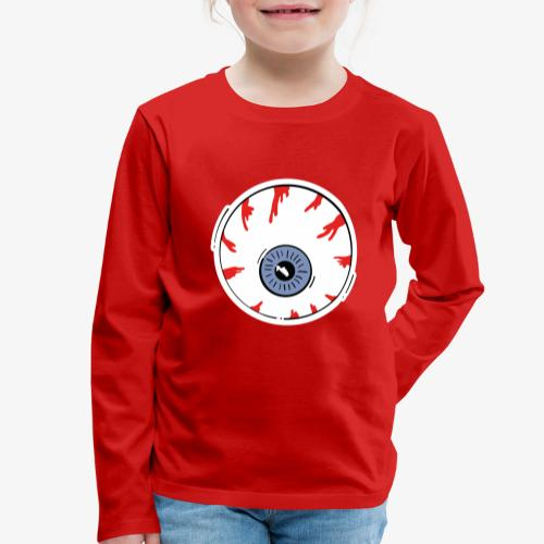 I keep an eye on you / Auge - Kinder Premium Langarmshirt