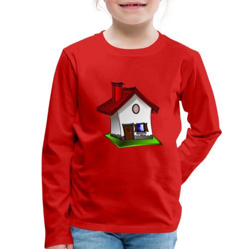 Haus - Kinder Premium Langarmshirt