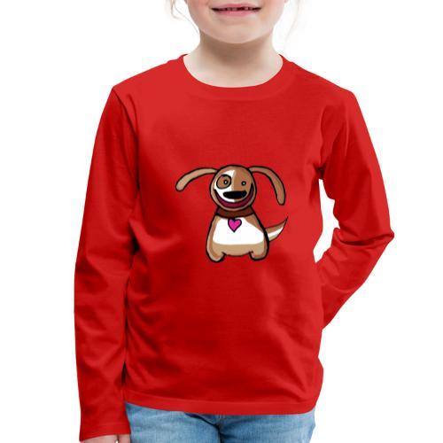 Titou le chien - T-shirt manches longues Premium Enfant