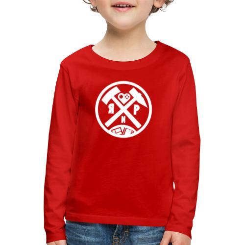 RuhrPott Nerdcast Logo 2.0 - Kinder Premium Langarmshirt