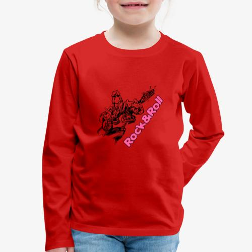 Rock 001 - Camiseta de manga larga premium niño
