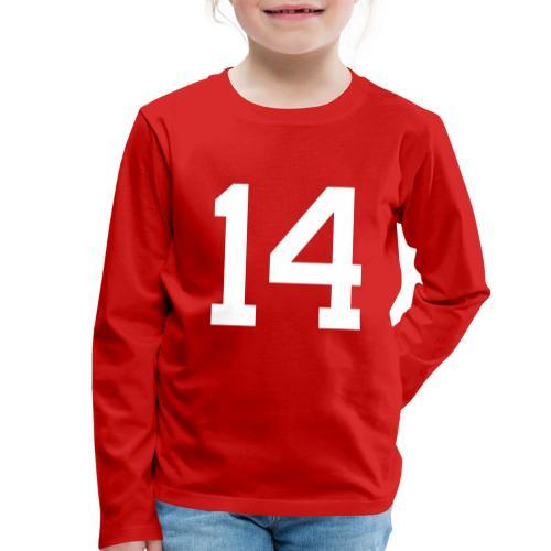 14 HEINRICH Michael - Kinder Premium Langarmshirt
