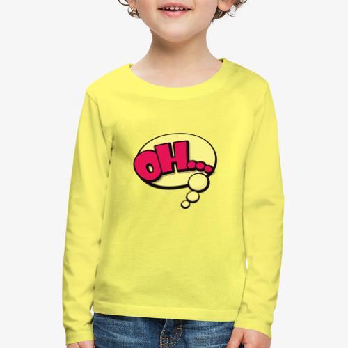 Serie Animados - Camiseta de manga larga premium niño