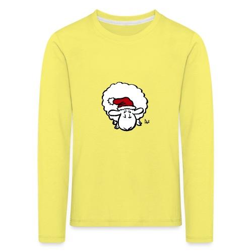 Santa Sheep (red) - Kids' Premium Longsleeve Shirt