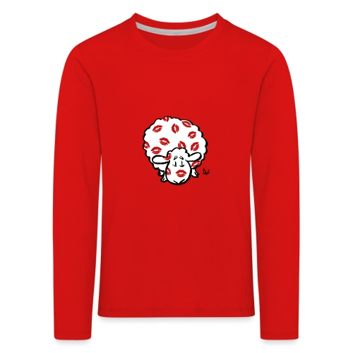 Beso oveja - Camiseta de manga larga premium niño