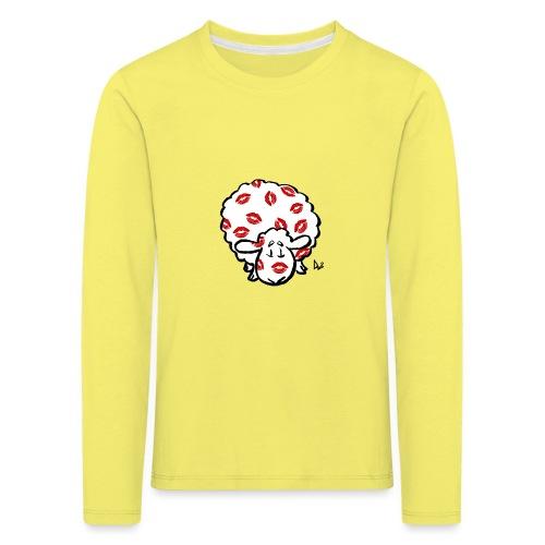 Kuss Mutterschaf - Kinder Premium Langarmshirt