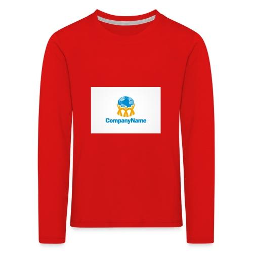 giro del mondo - Maglietta Premium a manica lunga per bambini