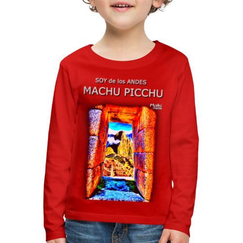 SOY de los ANDES - Machu Picchu I - Kids' Premium Longsleeve Shirt
