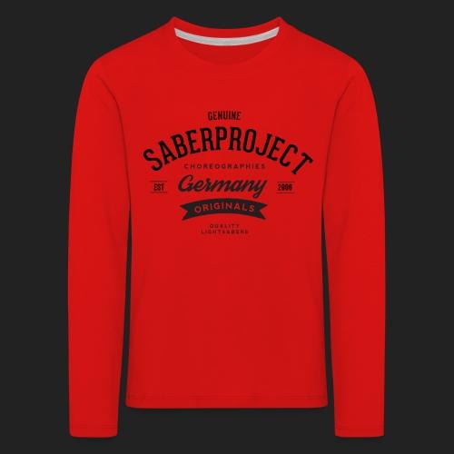 SP Originals - Kinder Premium Langarmshirt