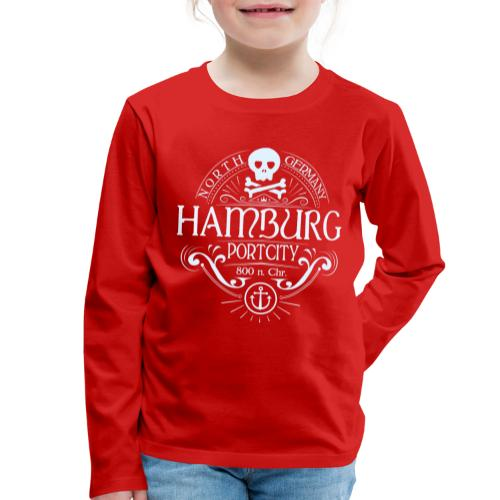 Hamburg Hafenstadt - Kinder Premium Langarmshirt