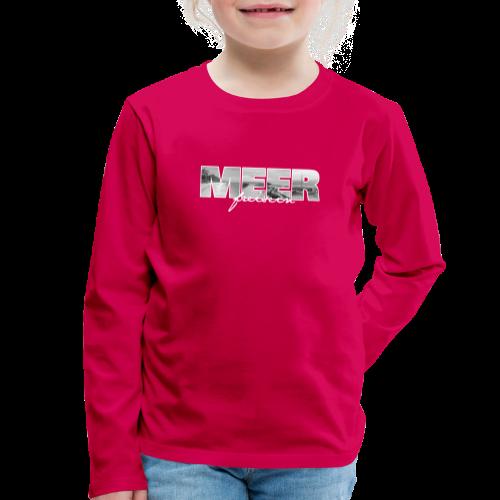 MEER - Kinder Premium Langarmshirt