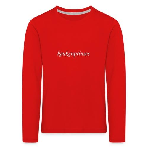 Keukenprinses1 - Kinderen Premium shirt met lange mouwen