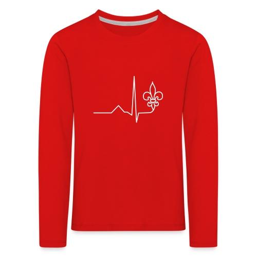 Scouts Heartbeat - Kids' Premium Longsleeve Shirt