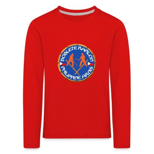Arnis Kali Doblete Rapilon - T-shirt manches longues Premium Enfant