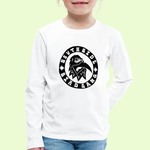 BLACK EAGLE LOGO - Lasten premium pitkähihainen t-paita