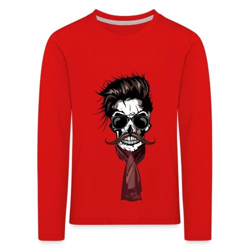 tete de mort hipster crane foulard echarpe skull m   Tee Shirts  hipsterskull tête de mort barbu avec moustache 119f168f236