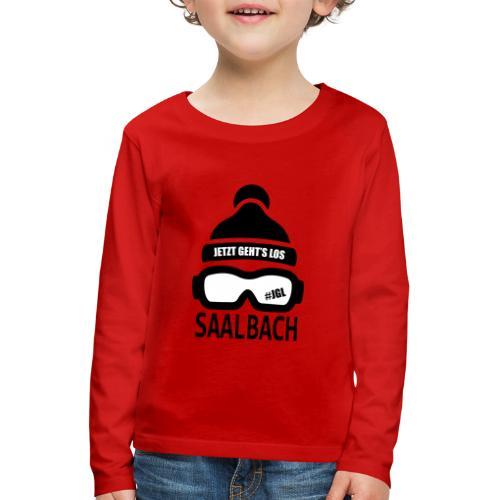 Skimuts Jetzt Geht's Los - Kinderen Premium shirt met lange mouwen