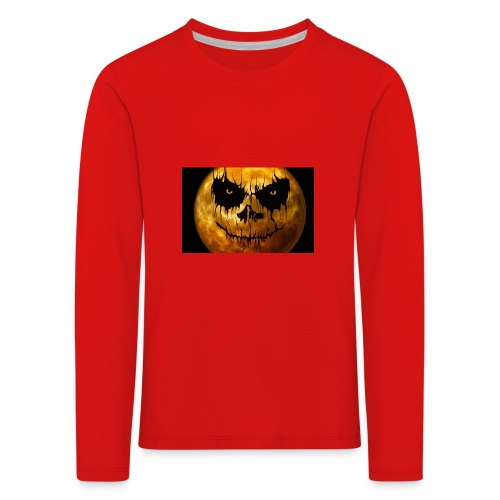 Halloween Mond Shadow Gamer Limited Edition - Kinder Premium Langarmshirt